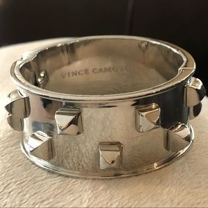 Barely loved Vince Camino cuff with square studs